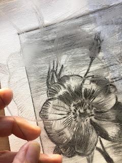 grabado punta seca