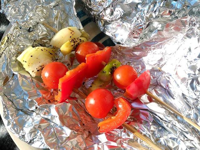 grillivartaat, kasvisvartaat, gi-arvo