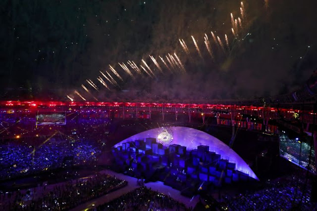Η μεγάλη γιορτή των Ολυμπιακών Αγώνων ξεκίνησε στο Ρίο
