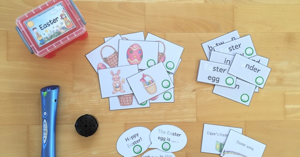 Materialwiese themenbox easter prepositions - Ideen englisch ...