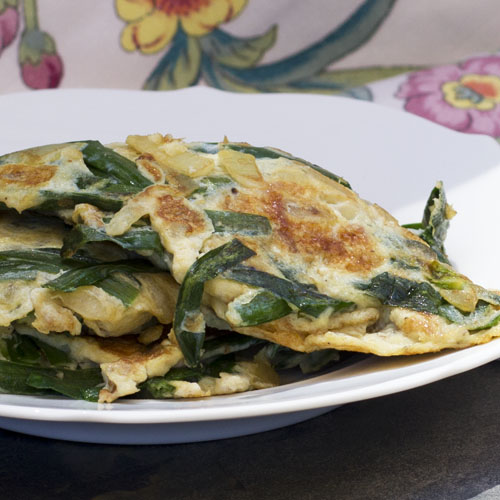 Cream Cheese Chive Omelet Recipe: Chives Omelet Recipe