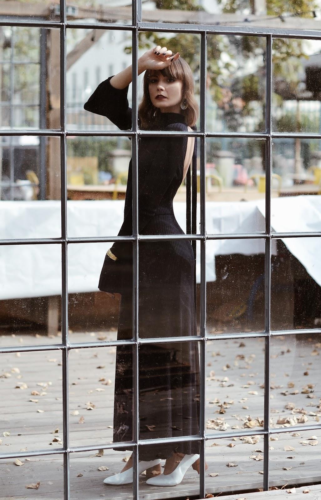 sukienka dzianinowa | cammy blog