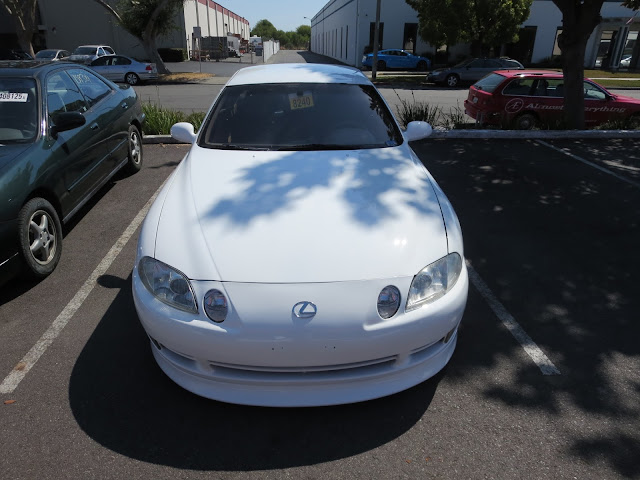 Lexus SC300 after auto body repairs & paint.