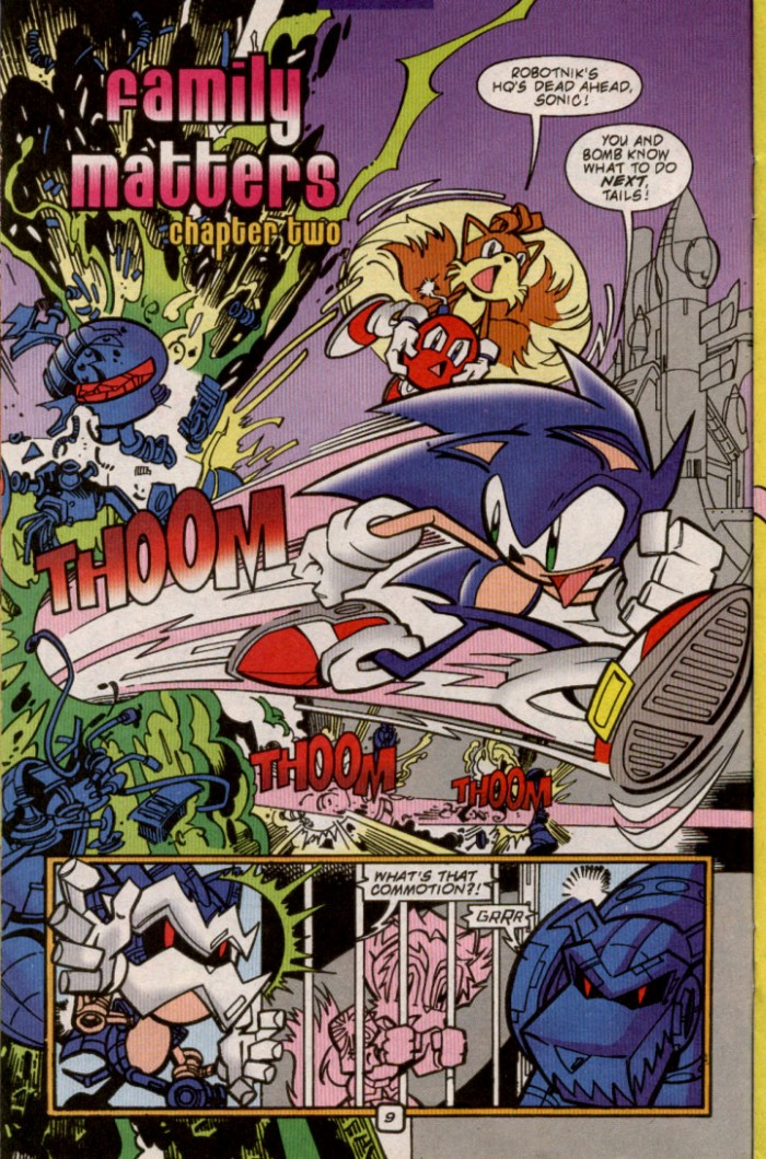 Read online Sonic The Hedgehog comic -  Issue #88 - 10
