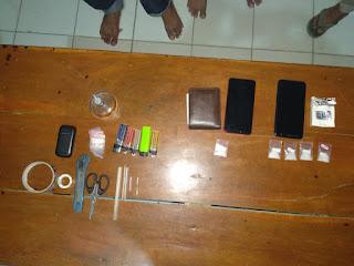 Polsek Rasbar Ungkap Peredaran Gelap Narkoba, 4 Orang Pelaku Ditangkap