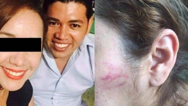Esposa embarazada de funcionario en Guerrero denuncia maltrato del servidor público