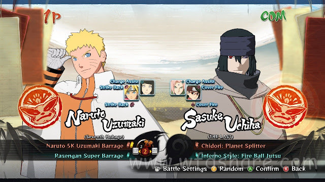 Highly compressed Naruto Shippuden Ultimate Ninja Storm 4