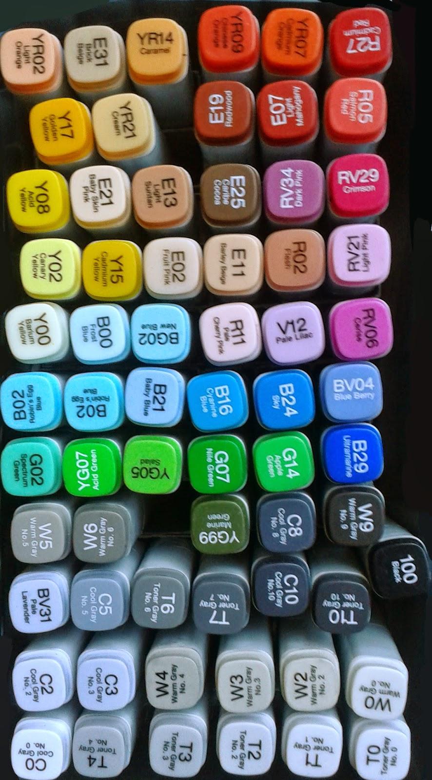 assortiment, concept design, Copic Markers, Copic Markers kopen, illustratie, kleuren, schaduw, schaduwwerking, tekenen net Copic Markers, tonen, welke Copic Markers moet ik kopen,