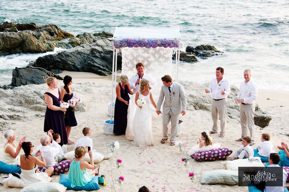 Kris Luke S Vintage Beach Wedding