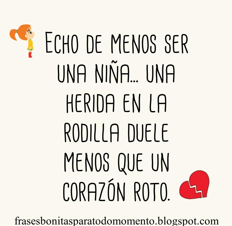 Imagenes De Corazon Roto Con Frases