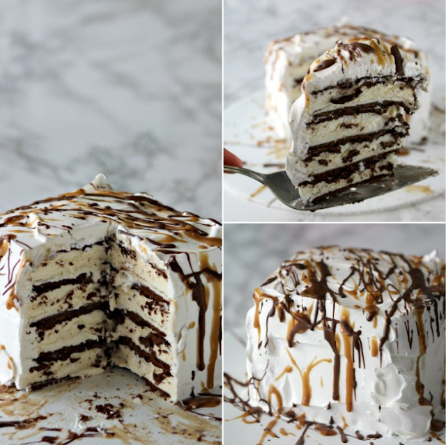 The Easiest Ice cream Cake