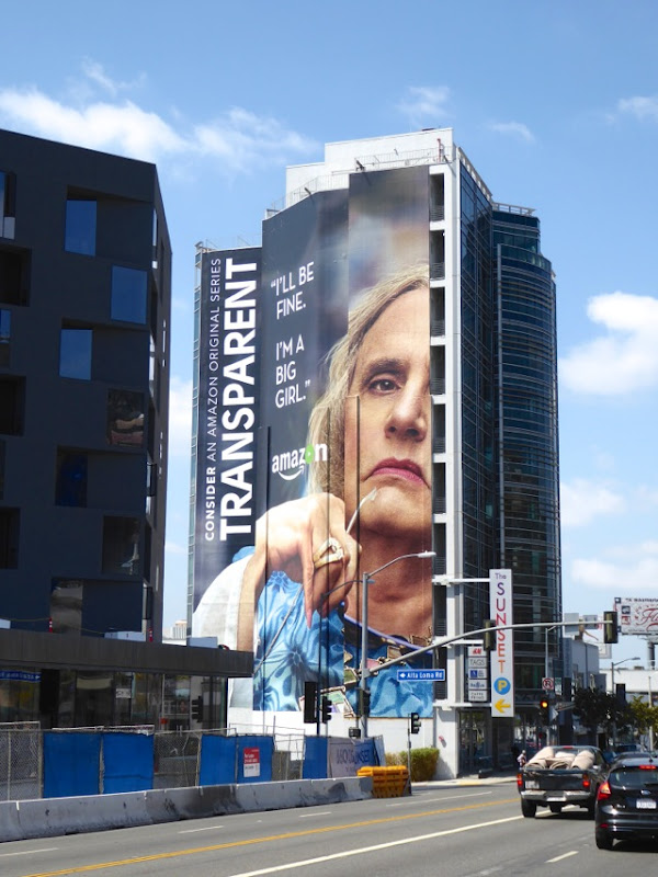 Giant Transparent 2016 Emmy FYC billboard Sunset Strip