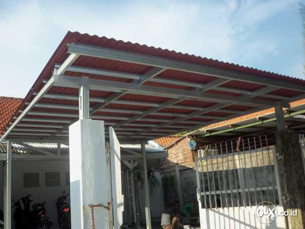 harga pasang atap baja ringan bogor kanopi