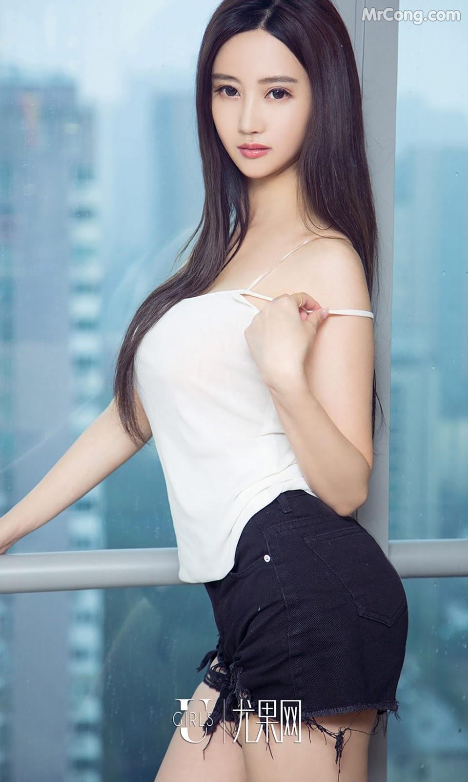Image UGIRLS-Ai-You-Wu-App-No.790-MrCong.com-007 in post UGIRLS – Ai You Wu App No.790: Người mẫu Han Yu Chan (韩雨婵) (40 ảnh)