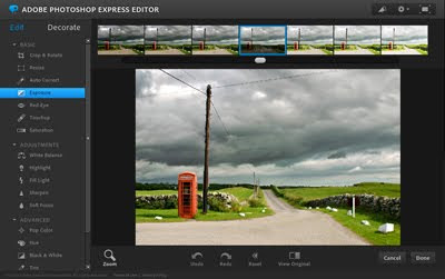 Edit images online with photoshop express how about orange for Rendering online