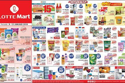 Katalog Promo Lottemart Hypermarket Weekend 9 - 13 Januari 2019