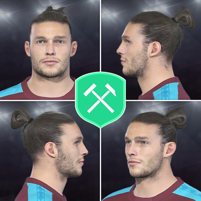 Andy Carroll Face PES 2018