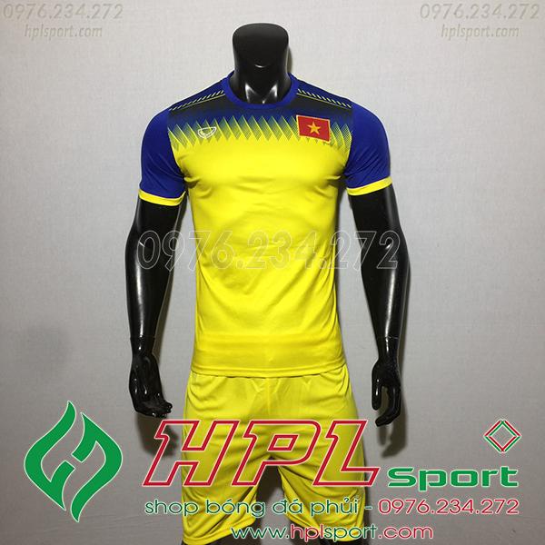 Áo bóng đá đội tuyển Việt Nam training vàng 2019