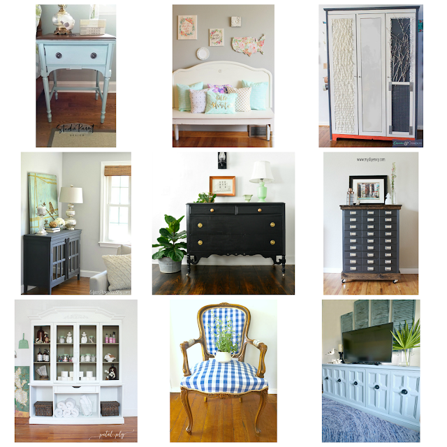 furniture makeovers, before and after, painting furniture, upholstering furniture, refinished furniture, how to flip furniture, how to paint furniture, metallic paint, country chic paint, pure and original, furniture inspiration, furniture ideas, diy