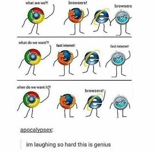 Internet Explorer funny Jokes and Images
