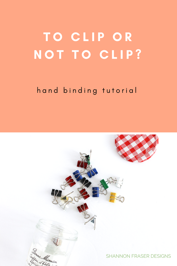 To clip your binding down or not? | Quilt Binding Tutorial Part 2 | Shannon Fraser Designs