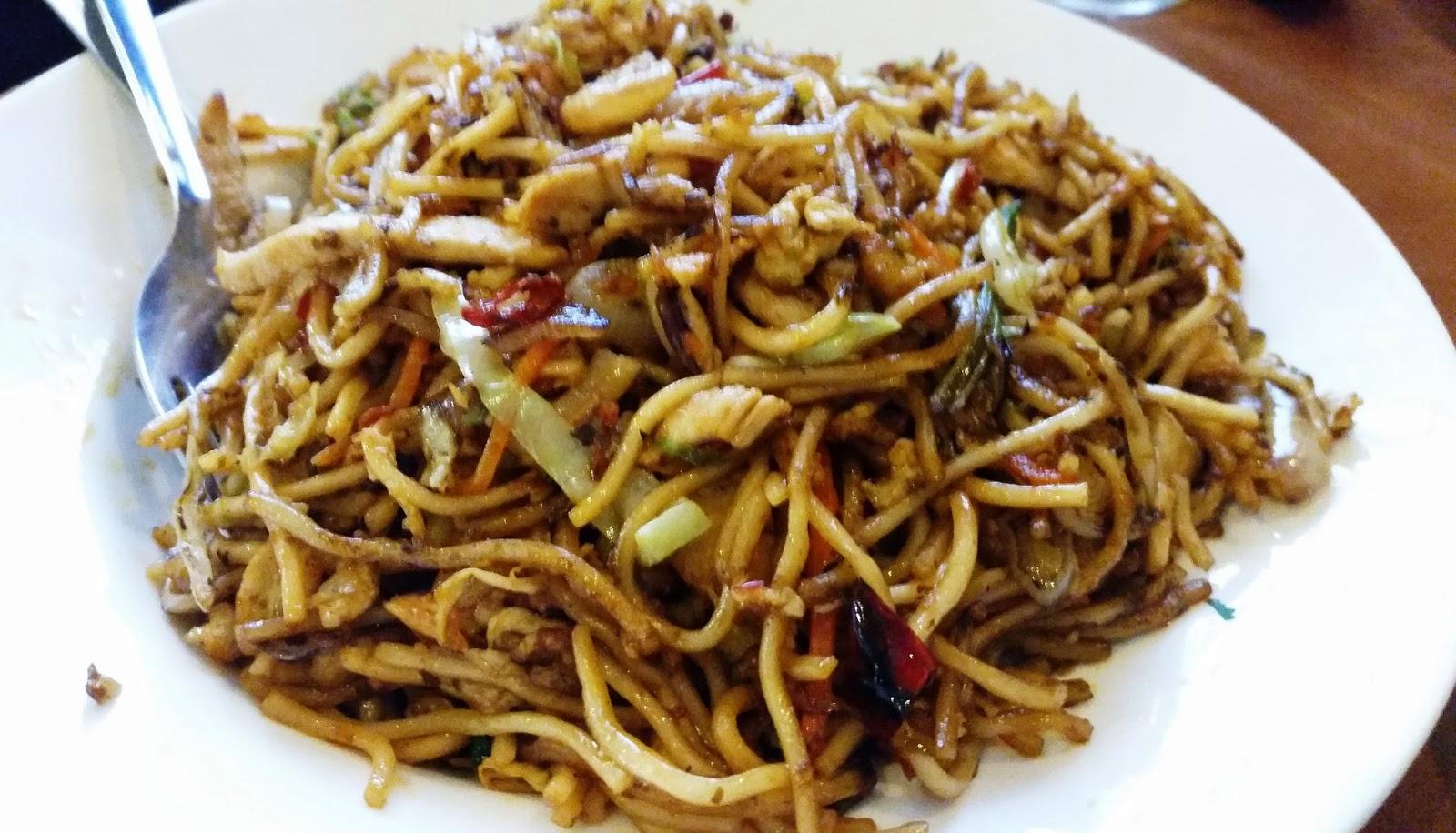 Mixed Szechuan Chowmien