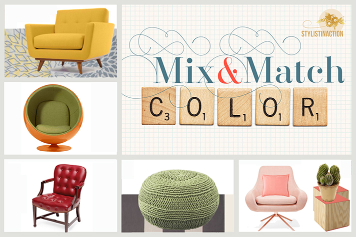 Mix and match - foto Portada post sobre color by Stylistinaction