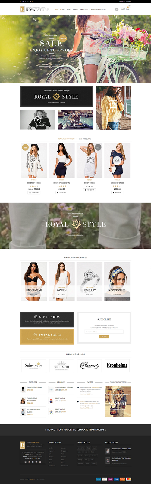 Royal Multipurpose WordPress Theme