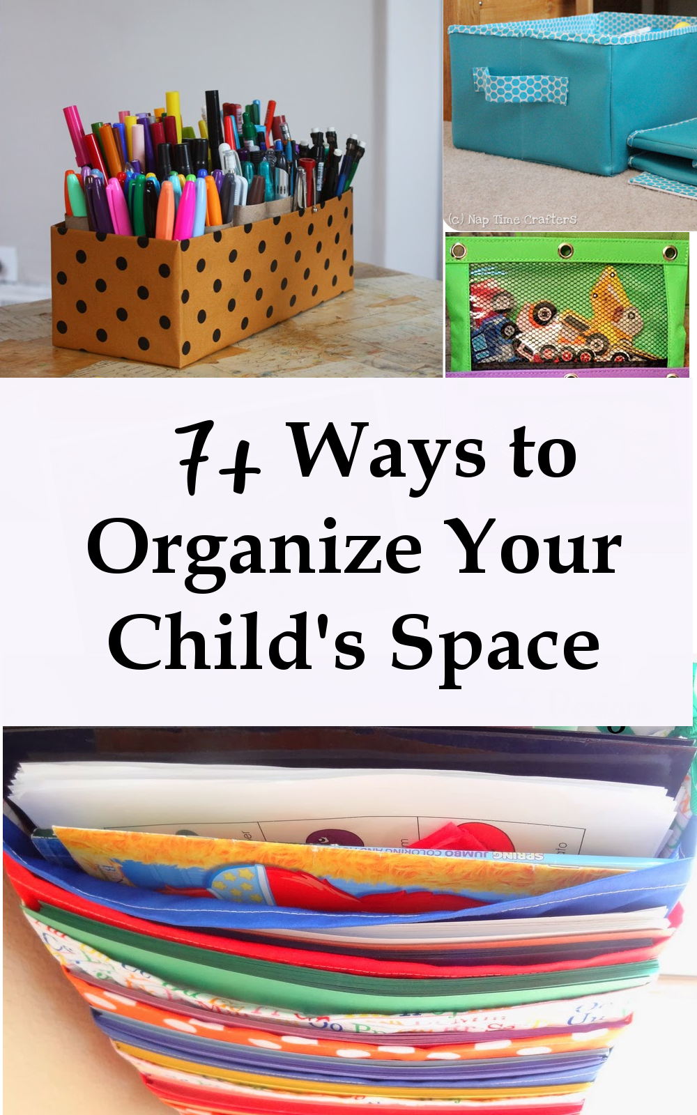 7+ Ways to Organize Your Child's Space