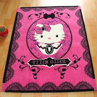 Gambar Karpet Hello Kitty yang Lucu 8