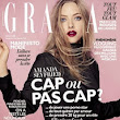 AMANDA IS COVER GIRL FOR GRAZIA - FRANCE.