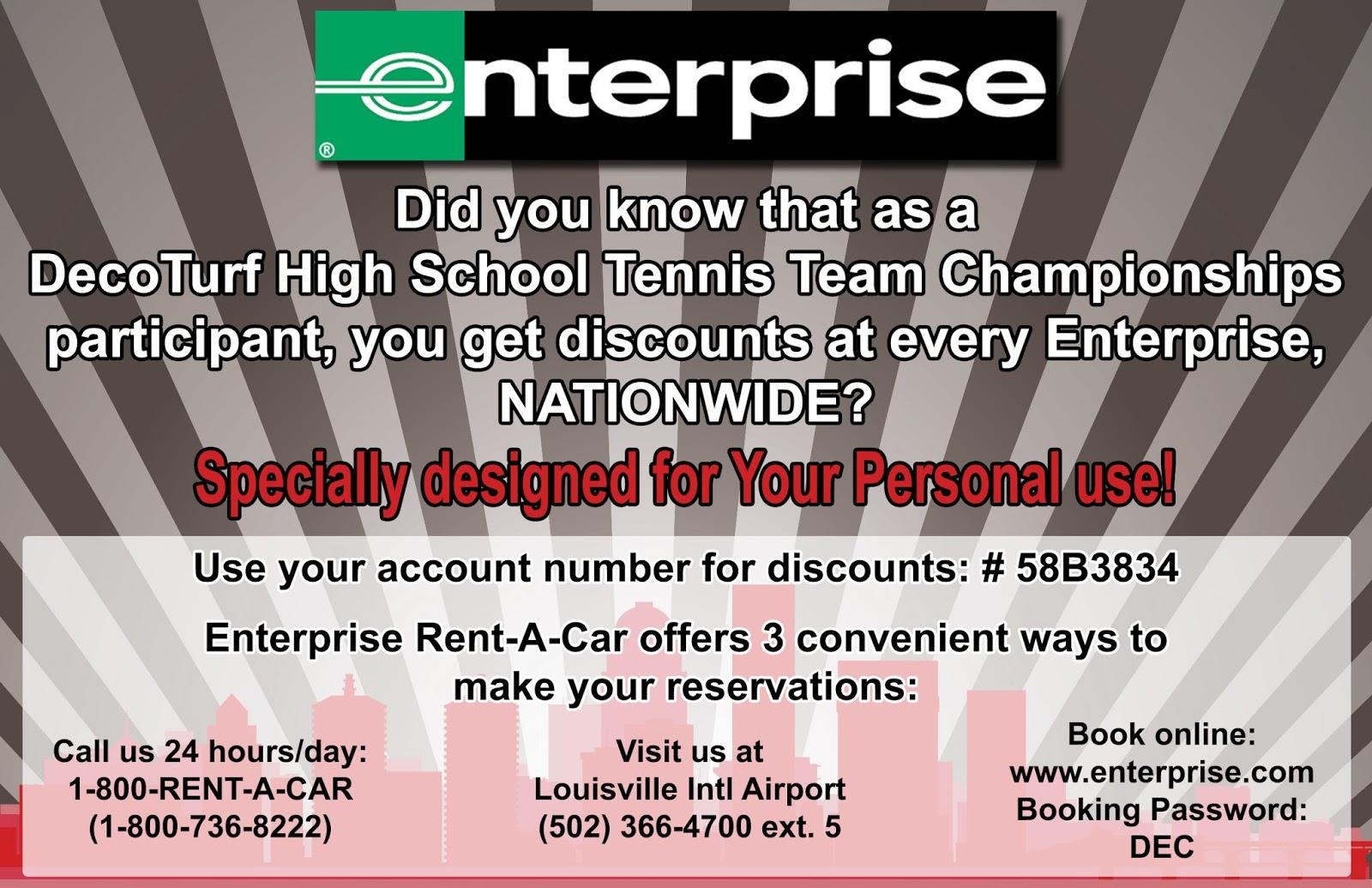 Enterprise coupon codes 2018