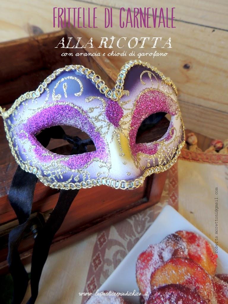 Frittelle di Carnevale alla ricotta con arancia e chiodi di garofano - www.lapasticceriadichico.it