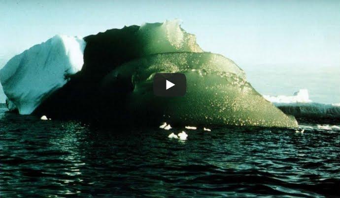 Perchè ci sono Icerberg Verdi in Antartide?