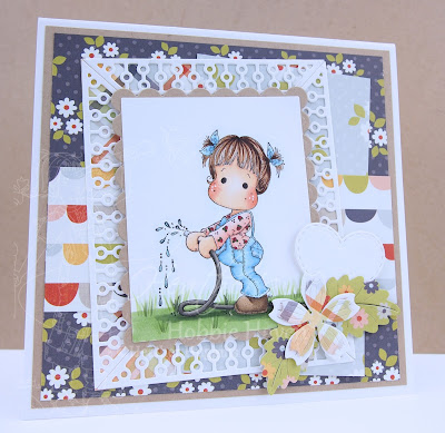 Heather's Hobbie Haven - Watering Tilda Card Kit