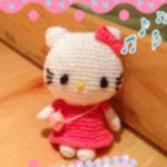 patron gratis hello kitty amigurumi | free amigurumi pattern hello kitty