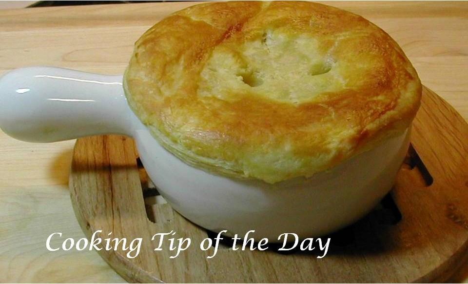 Recipe En Pot Pie With Puff Pastry Crust