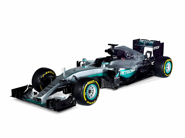 2016 Mercedes AMG Petronas W07 F1 Wallpaper