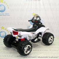 Pliko Pk9728 ATV Sport Rechargeable-battery Operated Toy Motorcycle