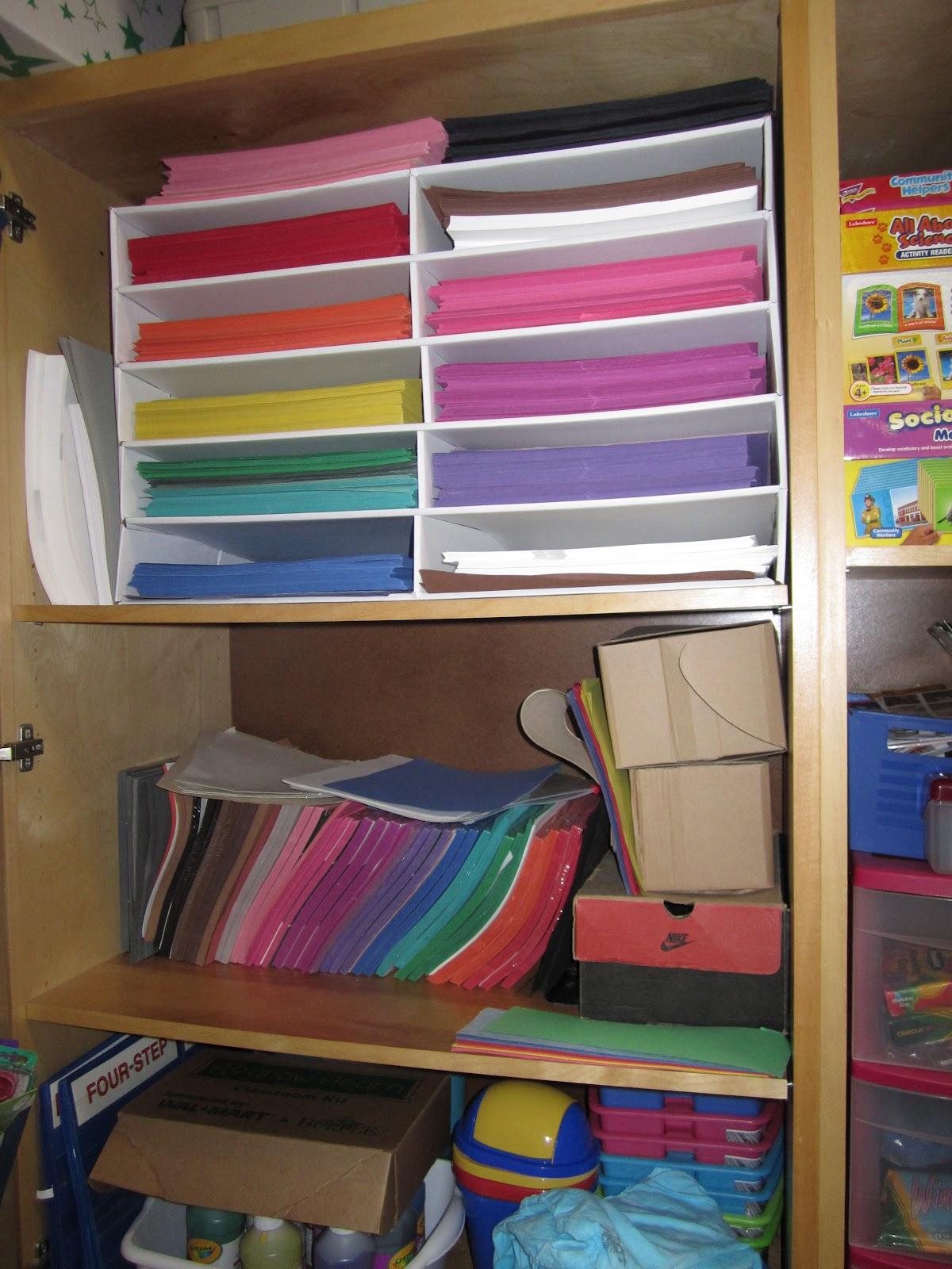 Under The Alphabet Tree Random Classroom Storage