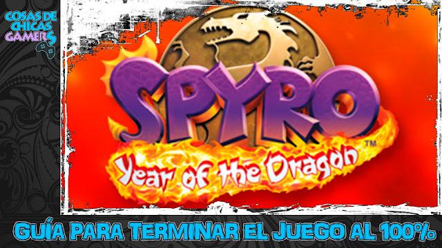 Guía para completar Spyro 3 Year of the dragon