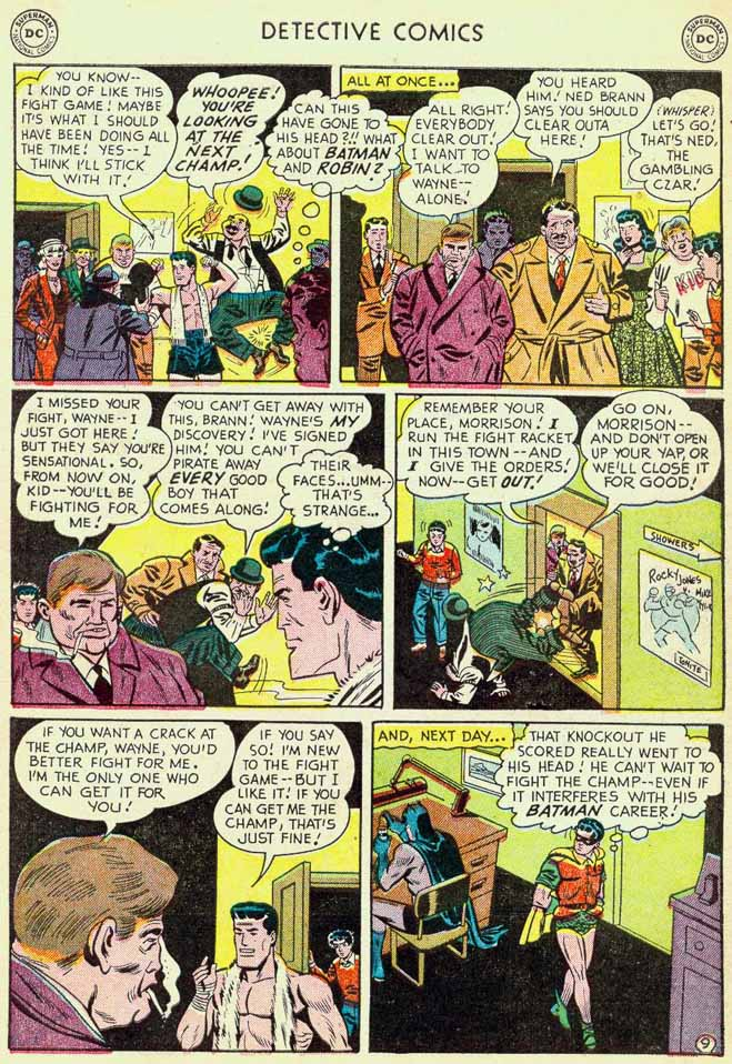 Read online Detective Comics (1937) comic -  Issue #174 - 11