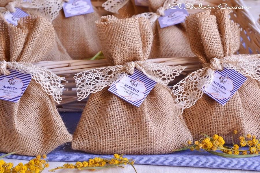 Saquitos aromaticos naturales para comunión marinera