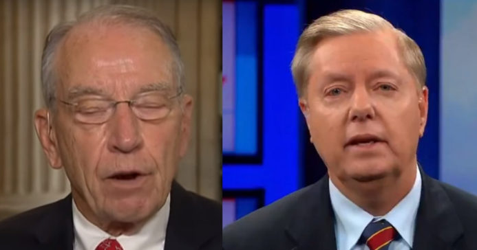 Chuck Grassley Steps Down Giving Lindsey Graham Free Reign To Go After Hillary And Comey