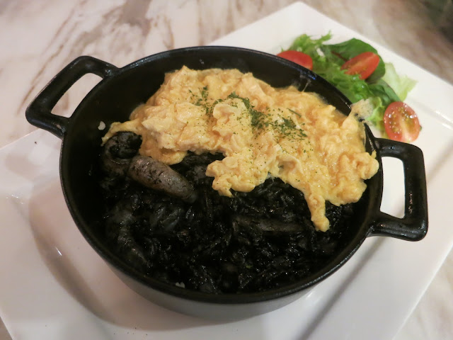 Riz Noir Squid Ink Rice