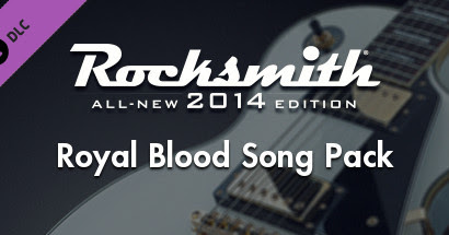 Rocksmith 2014 - Download DLC Royal Blood Song Pack