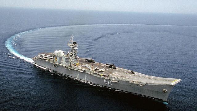 España vende como chatarra su portaaviones Principe de Asturia