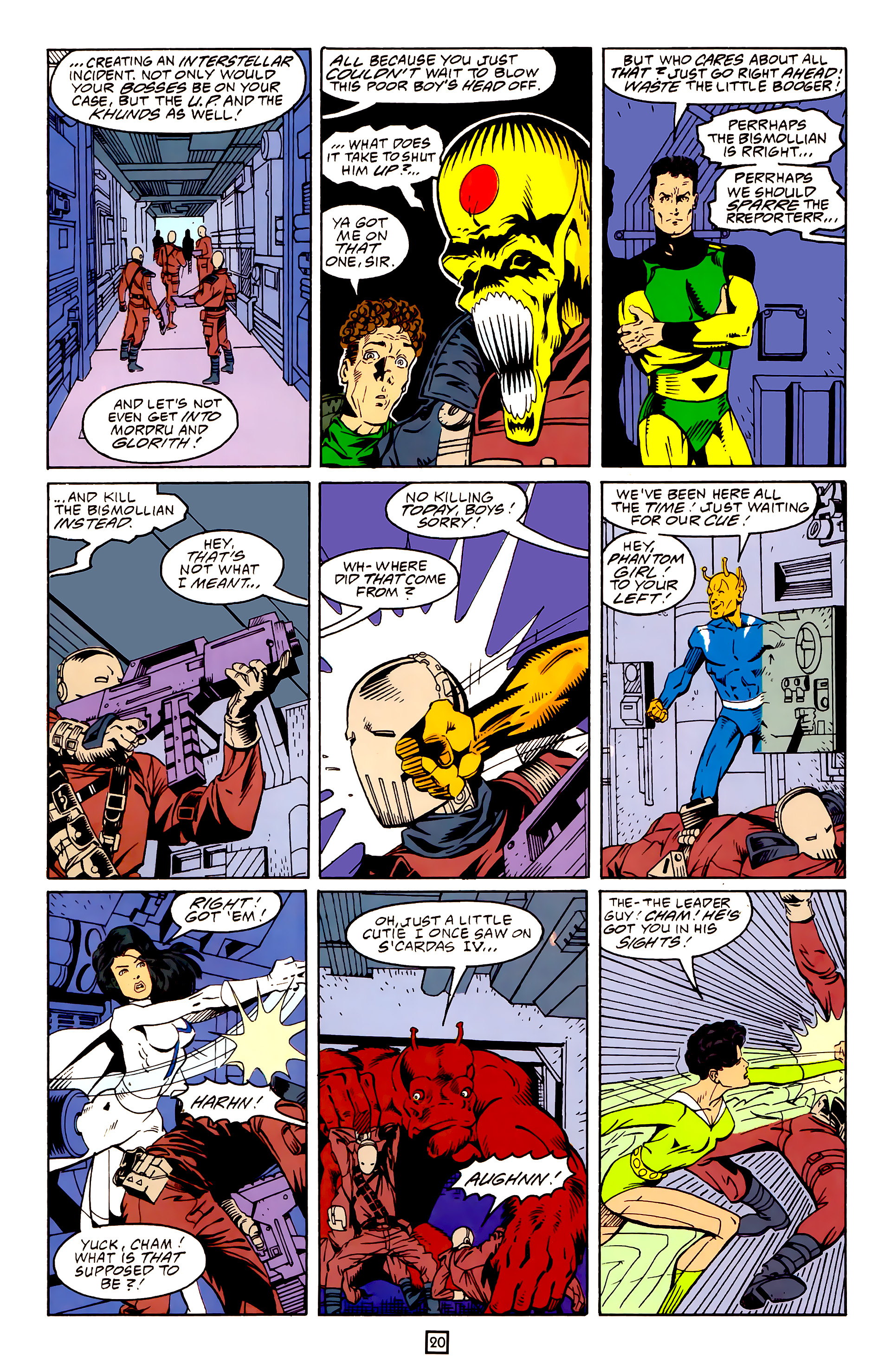 Legion of Super-Heroes (1989) 25 Page 20