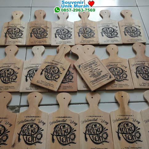 pabrik Undangan Talenan Medium Packaging Kertas Natural ecer