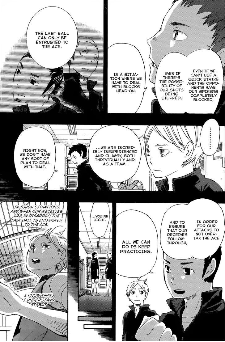 haikyuu ch 21 a toss to the ace online
